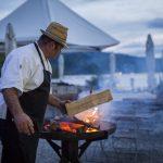 Feuerschale mit Koch